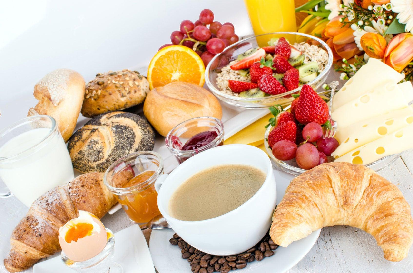 Frühstück - Hotel Nehalennia